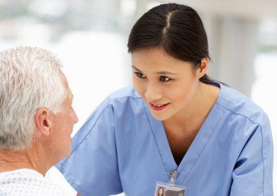Infirmier ou infirmière auxiliaire autorisé.e