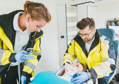 Paramédic / Services médicaux d'urgence (SMU) / Ambulanciers paramédicaux