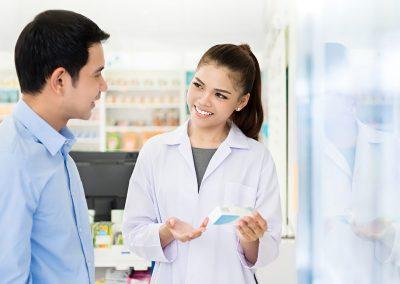 Pharmacien ou pharmacienne